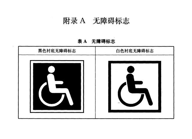 无障碍标识设计规范图片