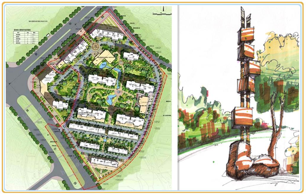 2013年11月,湖南美景创意标牌标识有限公司与湖南尚格置业有限公司签订尚格岭秀天下导视系统工程合同。 尚格岭秀天下总占地面积约100亩,总建面积约24万平方米。位踞生态宜居大东城荷塘区荷塘区新华东路,是集多层、高层、高雅会所、国际双语幼儿园等多种新古典主义风格建筑体围合而成。 尚格岭秀天下小区在整体规划设计中,贯穿以人为本设计理念,住宅风格在意境上追求古典,严谨,高贵,内敛,并不失现代感。为了强化项目定位和品牌效益,追求差异性、个性化,美景创意标识设计师确定本项目的导视系统风格为复古风,