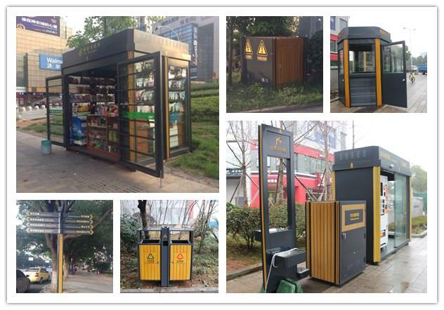 美景创意打造株洲城市家具项目获湖南省住建厅专家点