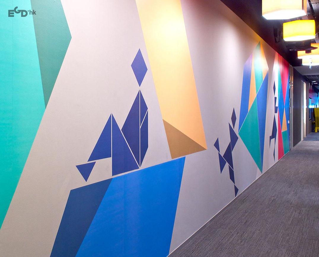 谷歌新加坡办事处导视系统设计