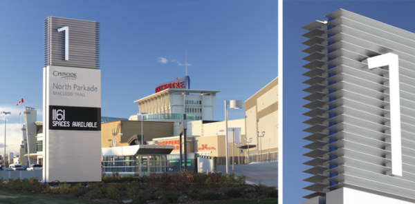 国外建筑/办公/卖场视觉导视系统欣赏图片