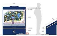 海南亚澜湾小区标识系统设计