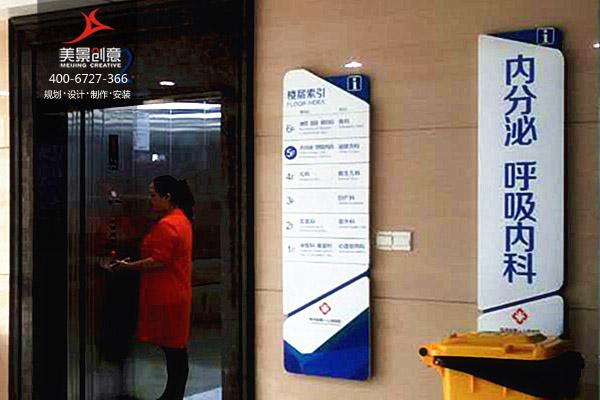 医院楼层标识-楼层标识牌设计/楼层指示牌/电梯楼层