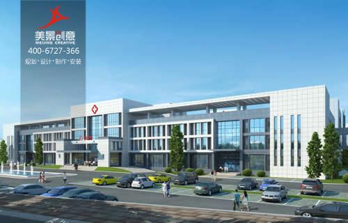 湖南株洲县第一人民医院标识系统设计