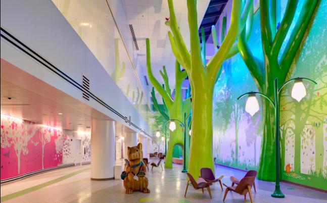 美国儿童医院导视系统设计