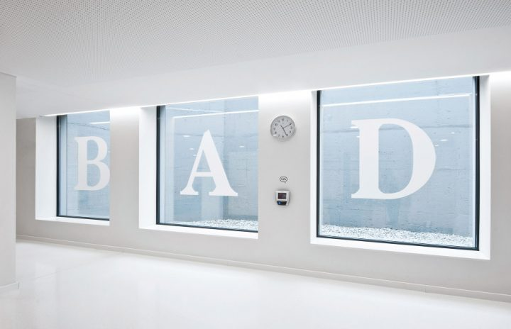 奥地利洗浴中心导视系统设计