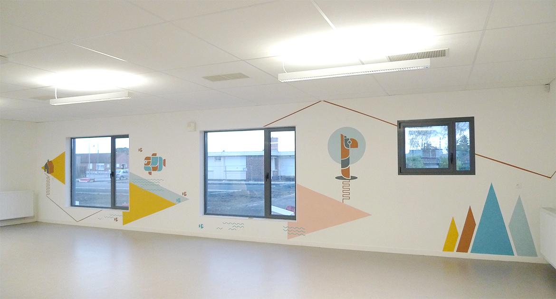托儿所室内环境图形设计