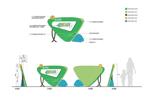 长沙市政府机关第二幼儿园导视系统设计