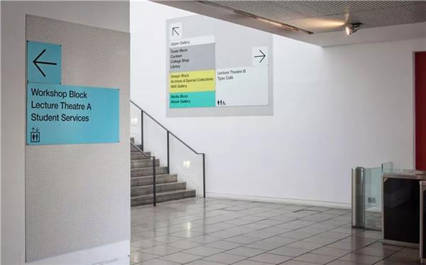 伦敦传媒学院导视万博体育manbetx官网设计欣赏